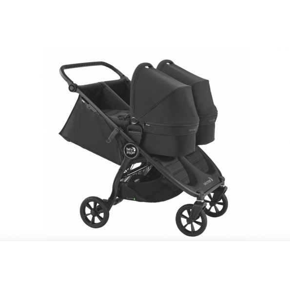 Baby Jogger City Mini GT 2 Double - jet 2020