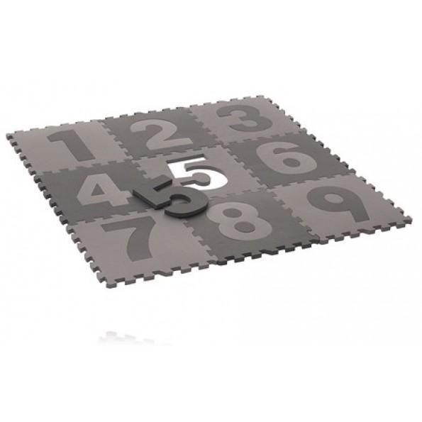 BABY DAN Spela golvet med siffror - Grå