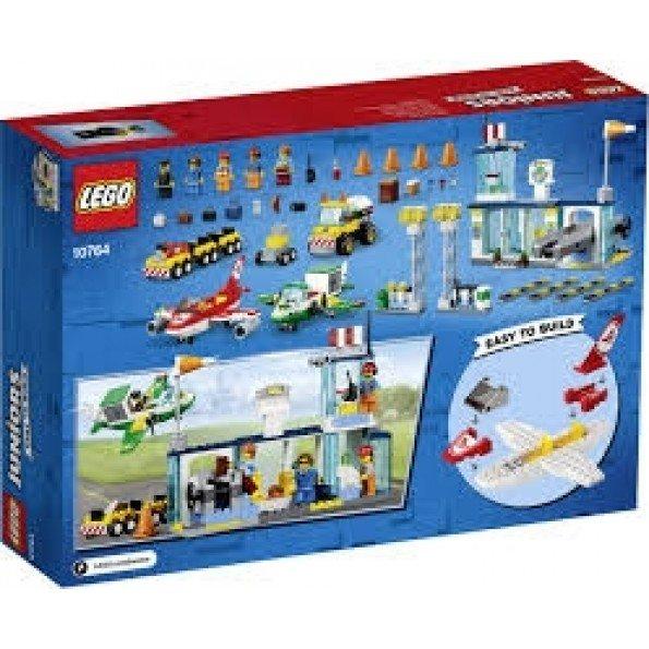 LEGO JUNIORS - Stadens centrala Flyggplats - 10764