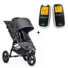 Neonate 5800 babyvakt + Bab Jogger Cit Elite Charcoal denim