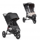 Baby Jogger City Elite Single Sittvagn + Regnskydd - Svart