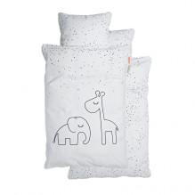 Done by Deer Babysängkläder, Dreamy dots, vit