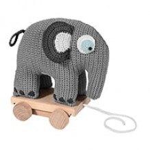 Sebra Fanto dragdjur - Klassisk grå