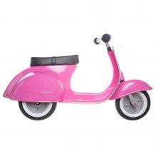 Ambosstoys Primo Classic trehjulet løbecykel - Pink
