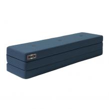 BY KLIPKLAP KK 3 Vik madrass - mörkblå med svarta knappar