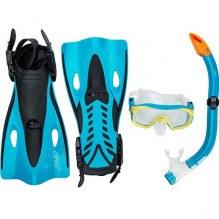CRUZCebu Jr. dykningssats 3 delar - Svart