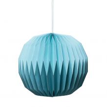 Tiny Republic Lampskärm med veck - Ljusblå