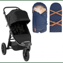Baby Jogger City Elite 2 Jet + Sleepbag Åkpåse Petrol