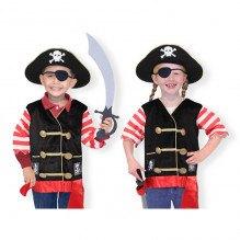 Melissa & Doug Utklädning - Pirat Rollspel