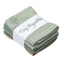 Tiny Republic tygblöjor - Green combi