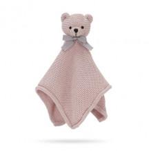 Vanilla Copenhagen Teddy Bear snuttefilt- Sandy Rose