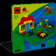 LEGO DUPLO stor byggnadsskiva - 2304