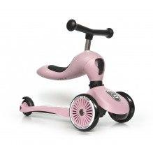 SCOOT AND RIDE Highwaykick 1 springcykel / skoter - rosa