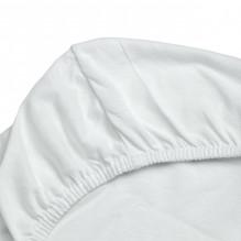 Soft Nordic jerseys stretchlager 70x160x12 cm - Vit