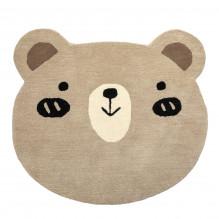 Tiny Republic nallebjörn matta, Charlie - Brun