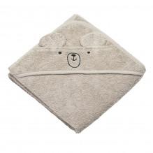 Tiny Republic handduk med huva & nallebjörn Charlie - Sann