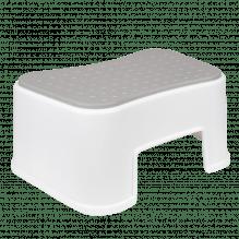 Tiny Republic Basic stol - Vit med grå
