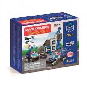 Maki Magformers Amazing Politi konstruktions set