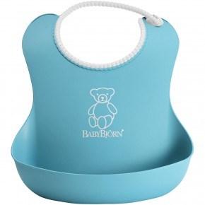 BabyBjörn Mjuk Haklapp - Ljus Blå