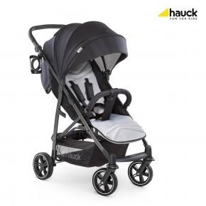 Hauck Rapid 4S - Caviar/Silver Sittvagn