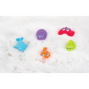 Playgro Squirtees Havsdjur 5-pack