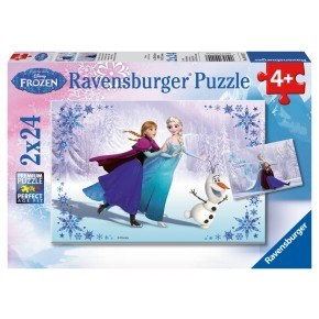 Ravensburger Pussel - Frozen Sisters Always