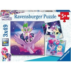 Ravensburger 3 st. Pussel - My Little Pony