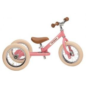 Trybike, balancecykel,3 hjul - ljusrosa