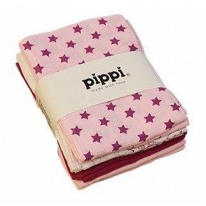 Pippi Tygblöjor 8-pack - Ljusrosa
