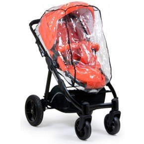 Crescent Trike Och City Regnskydd - Transparant