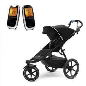Thule Urban Glide 2 Sittvagn Svart + Neonate 6500 Babyvakt