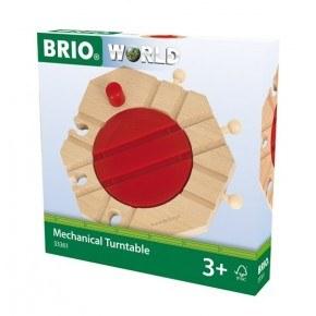 BRIO Mekanisk Vändskiva