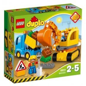 Lego Duplo Lastbil och Grävmaskin