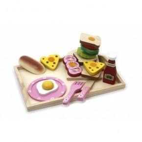 Magni Frukostbricka Med Tillbehör