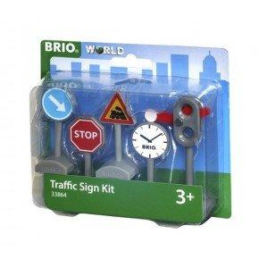 BRIO Trafikskyltar 5-pack