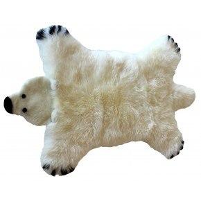 Baby Dan Isbjörnsmatta Liten - Vit
