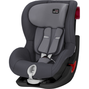 Britax Römer King II Black Series Bilstol - Storm Grey