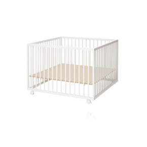 Baby Dan Comfort Lekhage 99x99 cm - Vit