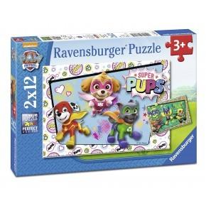 Ravensburger Pussel Paw Patrol 2 st.