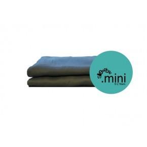Sleepbag.mini Lakan 2-pack - Grå