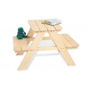 Pinolino Trädgårdsmöbler Till Barn 2 pers Nicki - Trä