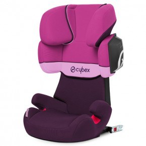 Cybex Solution X2-Fix Bältesstol - Purple Rain