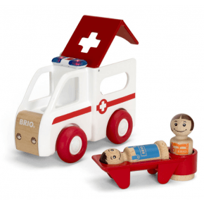 BRIO - Ambulans Med Ljud och Ljus