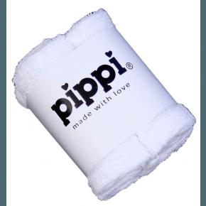 Pippi Tvättlappar 4-pack - White