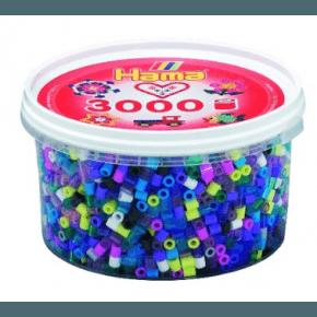 Hama Midi Pärlor 3000 St - Mix