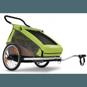 CROOZER - Cykelanhænger, Kid 2, grøn