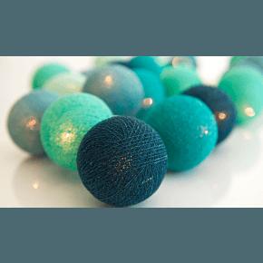 Irislights Cool Mint Ljusslinga 20 Bollar