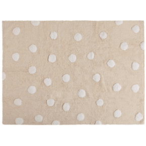 Lorena Canals Polka Dots Matta 120 x 160 cm - Beige