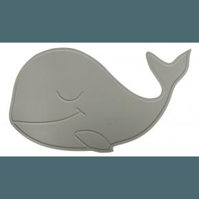 By Lille Vilde Whale Bordsunderlägg - Grå