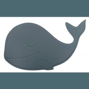 By Lille Vilde Whale Bordsunderlägg - Petrol